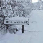 Bethlehem in the Snow