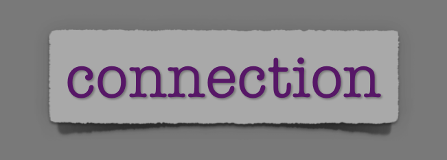 lenten journal: connection