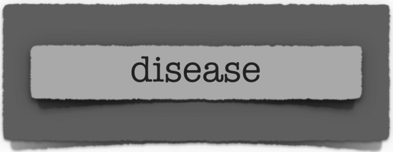 lenten journal: disease