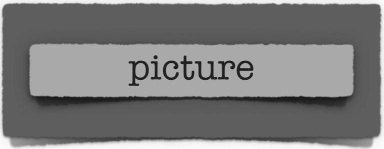 lenten journal: picture