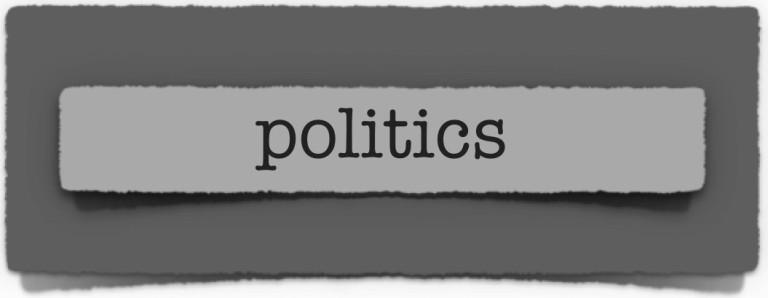 lenten journal: politics